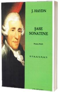Sase sonatine pentru pian - H. V. 56, 35, 72, 70, 34, 75