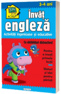 Scoala acasa - Invat engleza (3-4 ani)