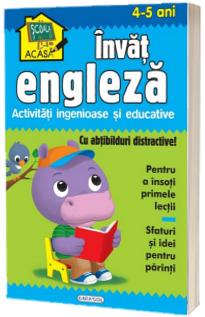 Scoala acasa - Invat engleza (4-5 ani)