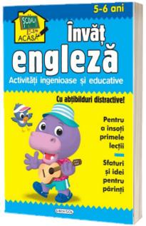 Scoala acasa - Invat engleza (5-6 ani)