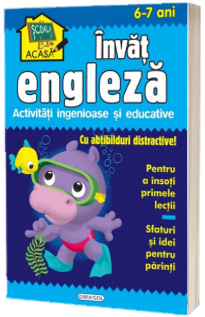 Scoala acasa - Invat engleza (6-7 ani)