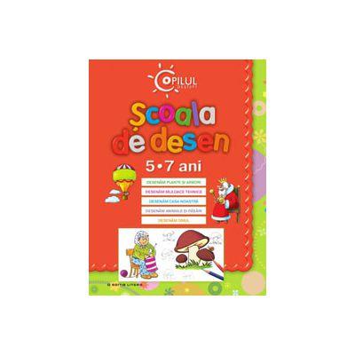 Scoala de desen (5-7 ani)