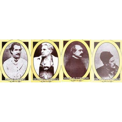 Scriitori romani, portrete