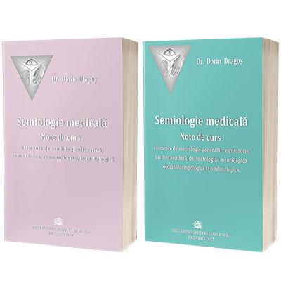 Serie de autor Dorin Dragos. Semiologie medicala. Note de curs (set 2 carti)