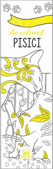 Semne de carte de colorat - Pisici (Ilustratii de Marica Zottion)