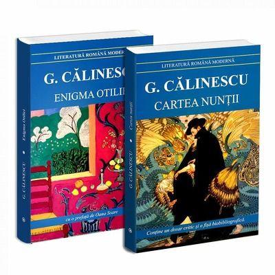 Seria de autor George Calinescu - 2 carti. Enigma Otiliei si Cartea Nuntii