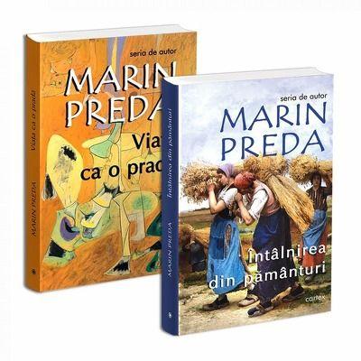 Seria de autor Marin Preda - 2 carti. Viata ca o prada si Intalnirea din pamanturi