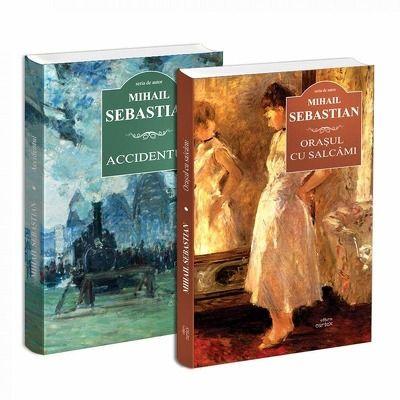 Seria de autor Mihail Sebastian - 2 carti. Accidentul si Orasul cu salcami