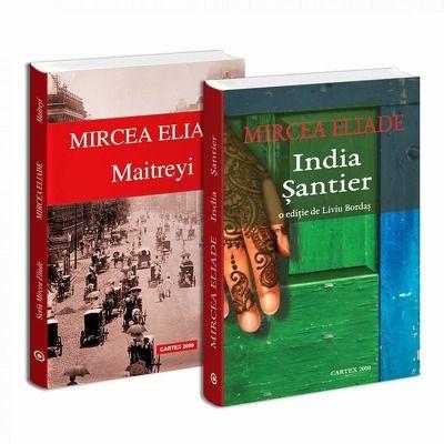Seria de autor Mircea Eliade - 2 carti. Maitreyi si India Santier