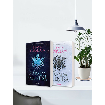 Serie de autor Diana Gabaldon. Prin zapada si cenusa, 2 volume (Seria Outlander, partea a VI-a)
