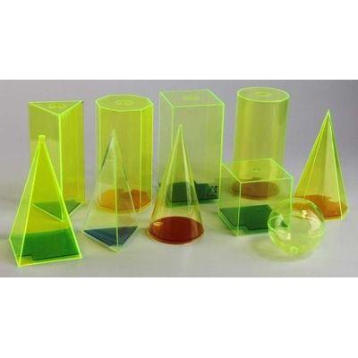 Set 10 corpuri geometrice ( h 15 cm)