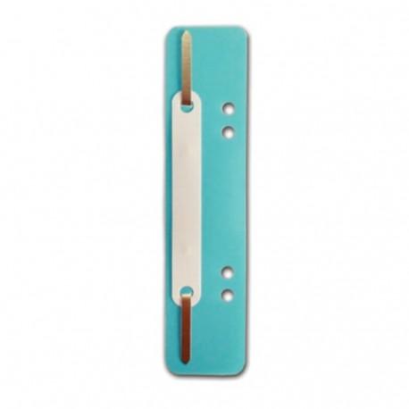 Alonje albastru deschis cu sina de metal- Set 25 de bucati