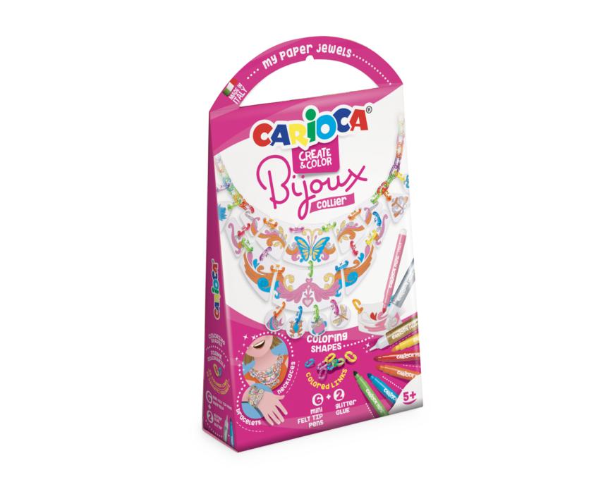 Set articole creative - Bijoux Collier - Carioca