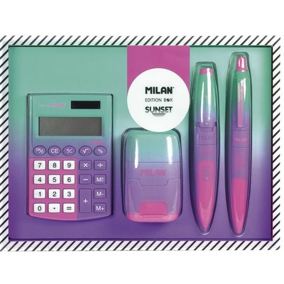 Set Cadou calculator, Milan 6350SN
