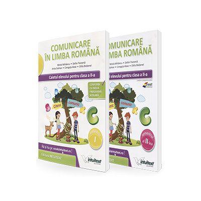 Set caiete - Comunicare in limba romana. Caietul elevului, pentru clasa a II-a - Semestrele I si II