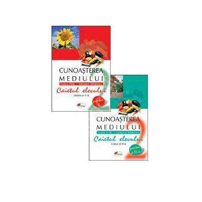 Set caiete de cunoasterea mediului pentru clasa a II-a (semestrele I si II) - Cleopatra Mihailescu, Tudora Pitila