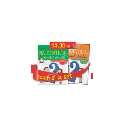 Set caiete de Matematica pentru clasa a II-a (semestrele I si II) - Stefan Pacearca, Mariana Mogos