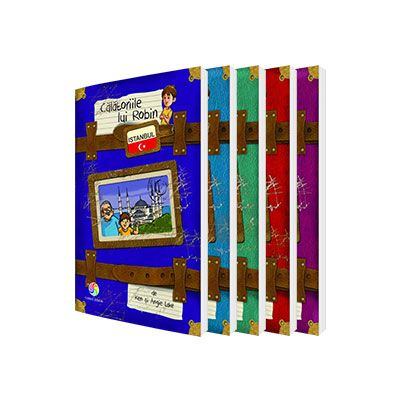 Set Calatoriile lui Robin - 5 volume (Istanbul, Barcelona, Venetia, Paris, Londra)