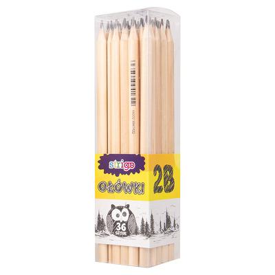 Set creioane Strigo 2B, 36 bucati