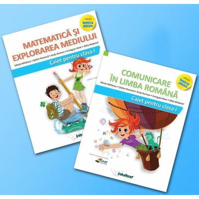 Set de 2 caiete pentru clasa I - Intuitex (Varianta - Pitila, Mihailescu)