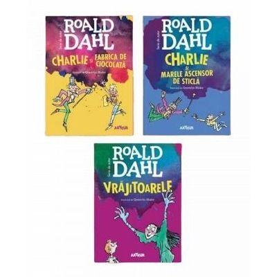 Set de autor Roald Dahl - 3 Volume