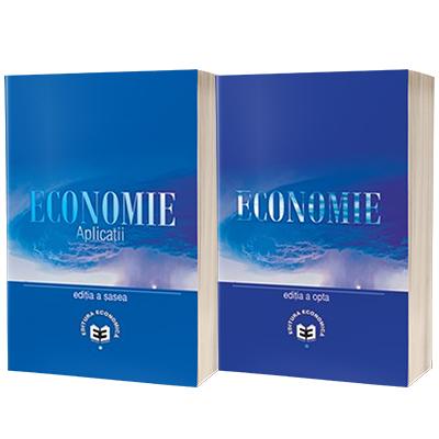 Set. Economie, editia a VIII-a si Economie. Aplicatii, editia a VI-a