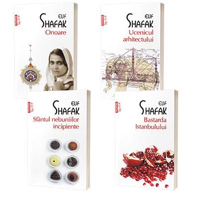 Serie de autor Elif Shafak, compusa din 4 carti