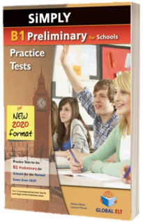 Simply B1 Preliminary for school. 8 practice test, students book