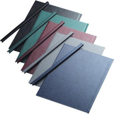 Sina metalica structura panzata, A5, 221-260 pag.(28 mm) 10 buc/set, Metal -Bind Opus - albastru