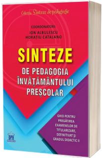 Sinteze de pedagogia invatamantului prescolar