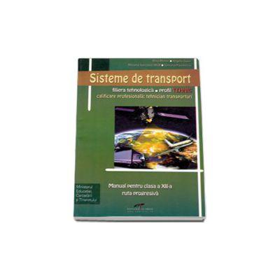 Sisteme de transport - ruta progresiva, filiera tehnologica, profil tehnic, calificarea profesionala tehnician transporturi