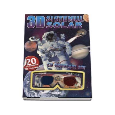 Sistemul solar - Cu ochelari 3D! (Contine 20 de abtibilduri 3D reutilizabile)