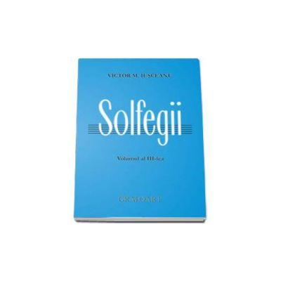 Solfegii, volumul III