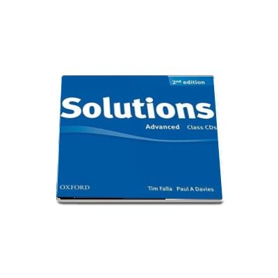 Solutions Advanced Class Audio CDs (3 CDs) 2nd Edition