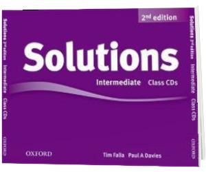 Solutions. Intermediate. Class Audio CDs (3 Discs)