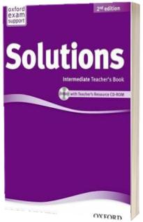 Solutions. Intermediate. Teachers Book and CD-ROM Pack