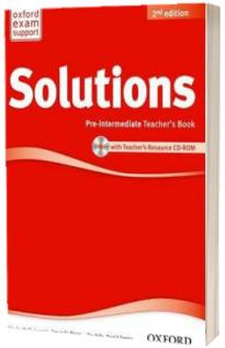 Solutions. Pre-Intermediate. Teachers Book and CD-ROM Pack