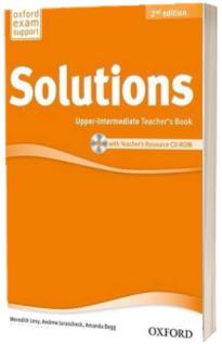 Solutions. Upper-Intermediate. Teachers Book and CD-ROM Pack