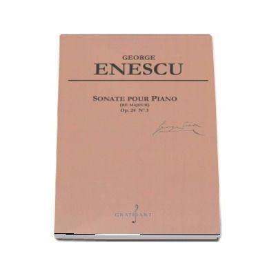 Sonate pour Piano. Re Majeur, Opus 24 Numarul 3