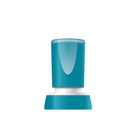 Stampila Xstamper QuiX - Q34, rotunda, D-20mm - tus albastru