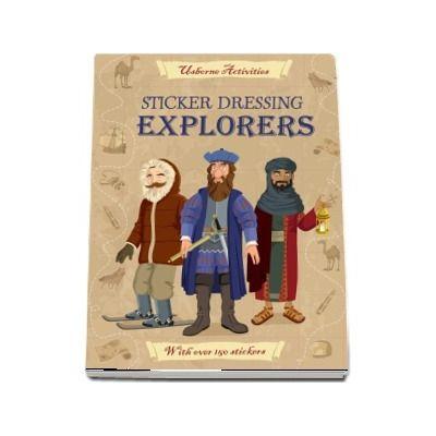 Sticker Dressing: Explorers