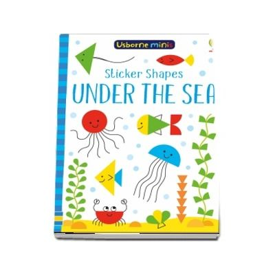 Sticker shapes under the sea