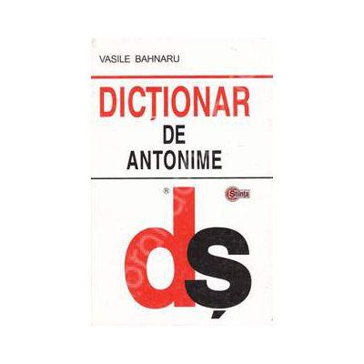 Dictionar de antonime (Editie Cartonata)