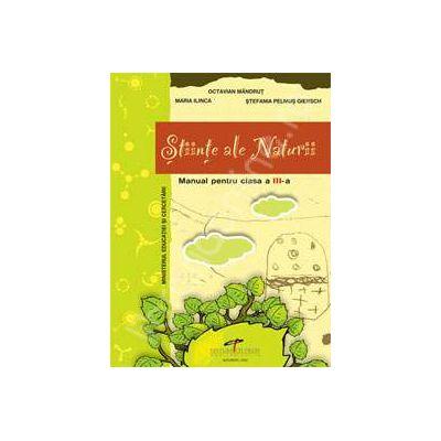Stiinte ale Naturii, manual pentru clasa a III-a