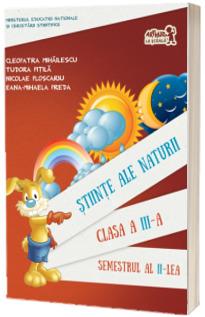 Stiinte ale naturii manual pentru clasa a III-a, semestrul al II-lea