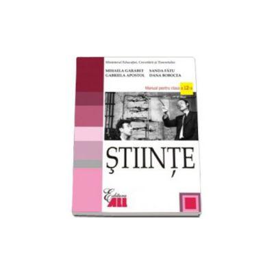 Stiinte - manual pentru clasa a XII-a (Sanda Fatu)
