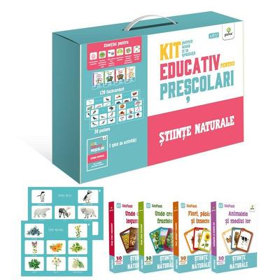Stiinte naturale - Kit educativ pentru prescolari