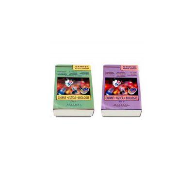 Stiinte pentru juniori - Set doua volume, Chimie, Fizica, Biologie - Editia a III-a