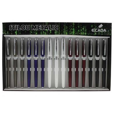 Stilou metalic Ecada 93216