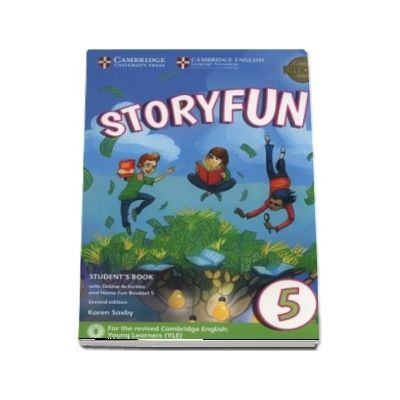Storyfun 5 Students Book with Online Activities and Home Fun Booklet 5